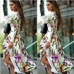 Dresses & Skirts - COPY - Floral Maxi Dress